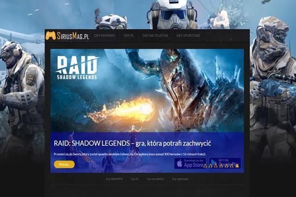 SiriusMag.pl – nowy portal o grach przeglądarkowych